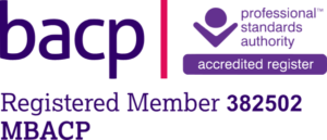 BACP Registered Member 382502 MBACP